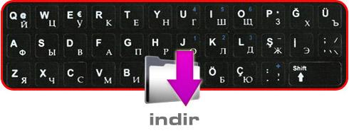 Rusça klavye indirin